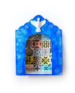 Oratório | Capela Azul em Mdf