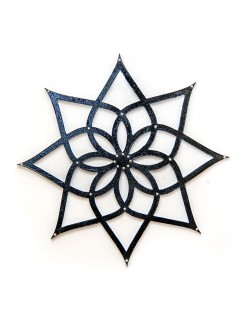 Mandala Estrela em Mdf