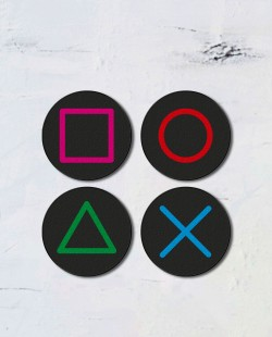 Porta Copos Botões Joystick