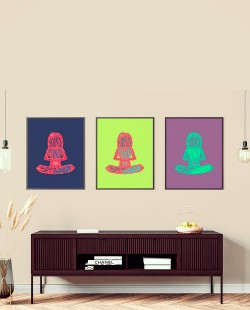 3 Placas Decorativas Sound Mind