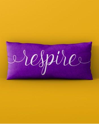 Almofada Retangular Respire