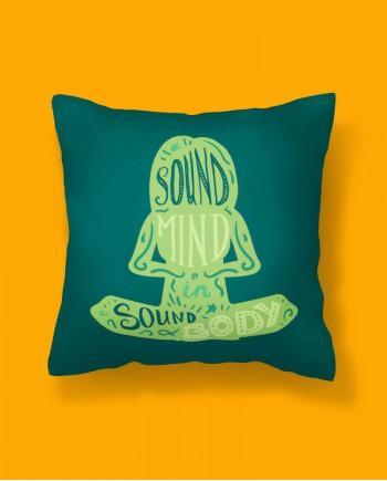 Almofada Quadrada Sound Mind