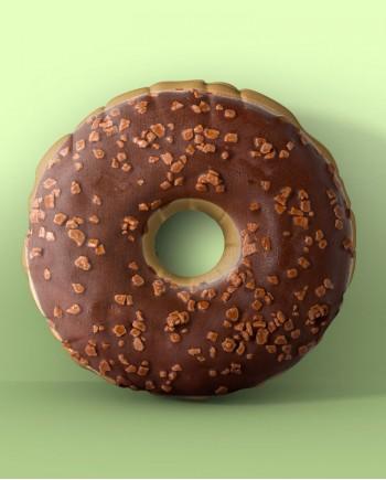 Almofada Donut de Chocolate