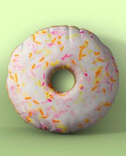 Almofada Donut de Baunilha
