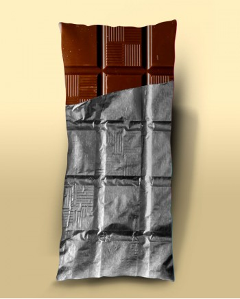 Almofada Retangular Barra de Chocolate