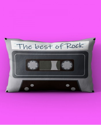Almofada Retangular Rock n' Roll