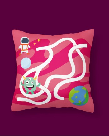 Almofada Jogo Espacial 1