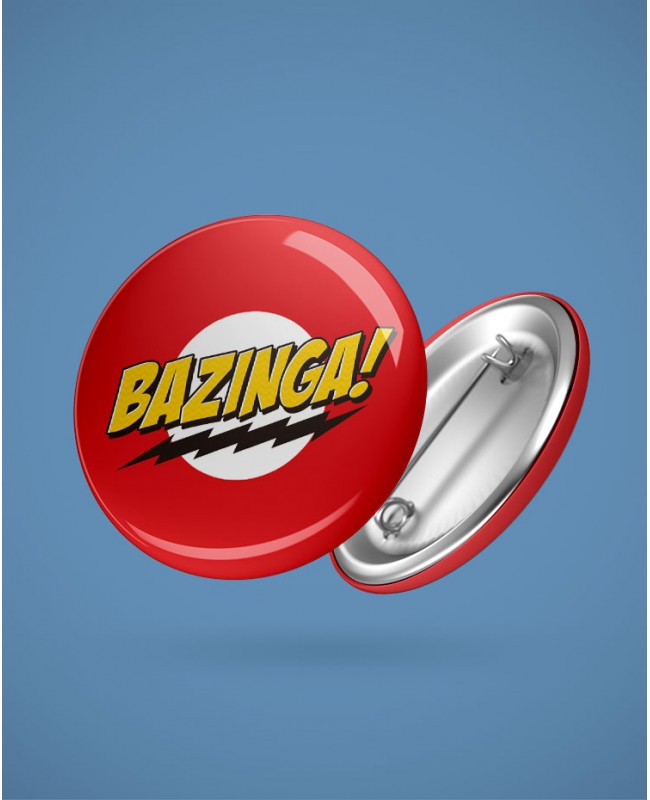 Button Bazinga