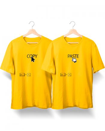 2 Camisetas Copy & Paste