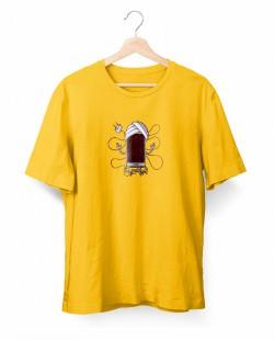 Camiseta Celular Meditando