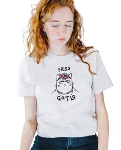 Camiseta Frida Gatlo
