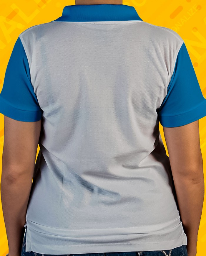 Camiseta Polo Manga e Gola - Personalizável