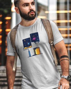 Camiseta Pintando o Universo