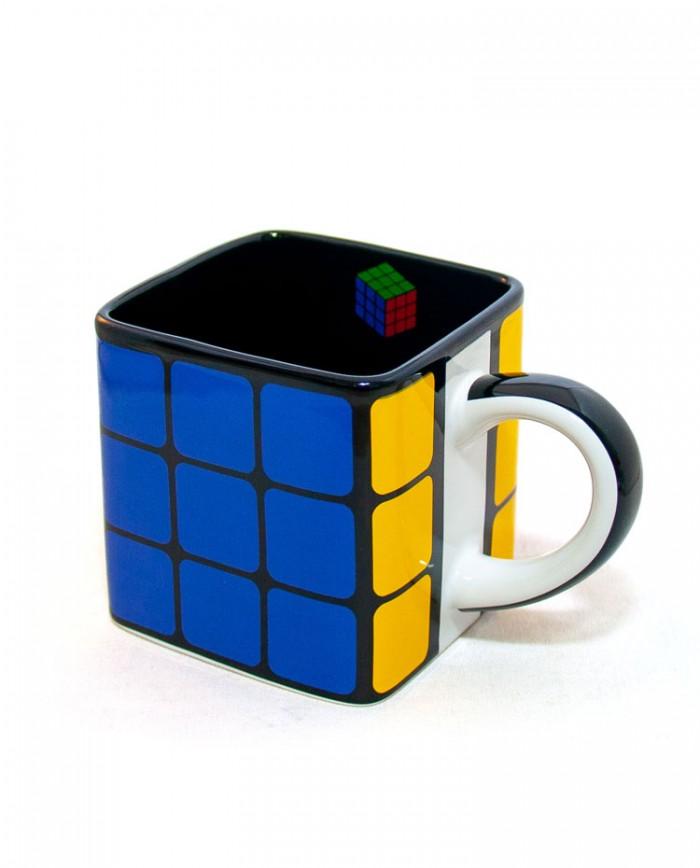 Caneca Cerâmica Quadrada Cubo Mágico