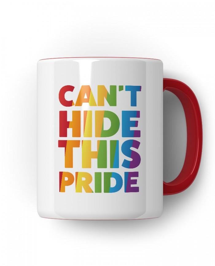 Caneca Porcelanato Cant Hide This Pride