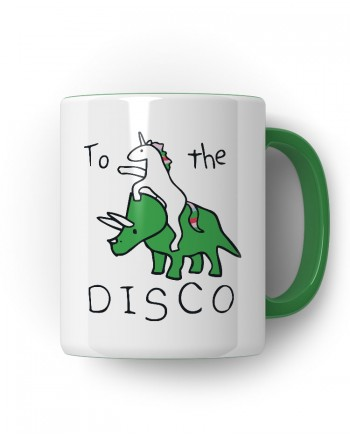 Caneca Porcelanato To The Disco