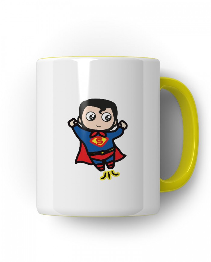 Caneca Porcelanato Superman