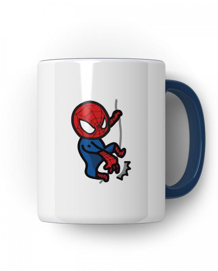 Caneca  Porcelanato Homem Aranha