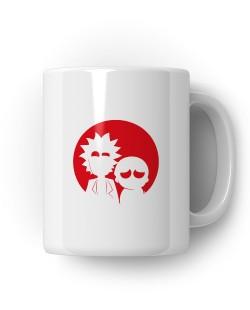 Caneca  Porcelanato Rick & Morty