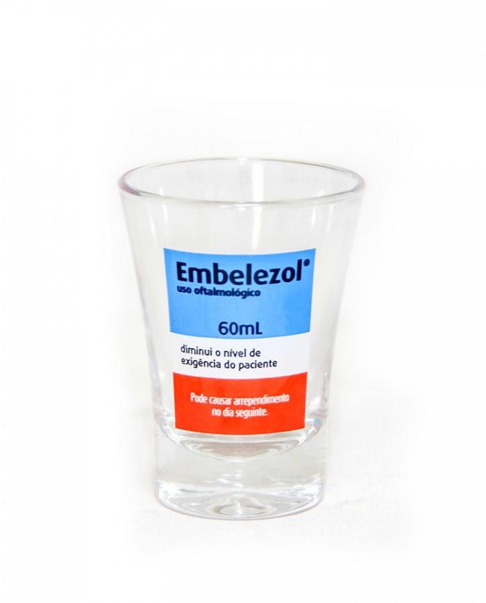 Copo Dose Individual - Embelezol - Sátira Remédio