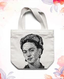 Sacola Eco Frida Kahlo